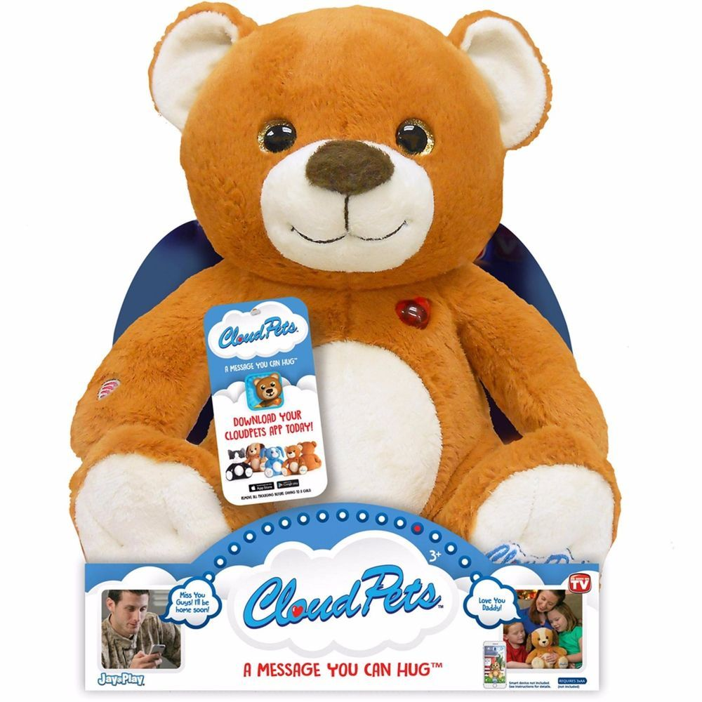 Cloudpets bear toy interactive new in package mycloudpets