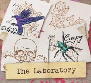 The Laboratory (Design Pack) | Urban Threads: Unique and Awesome Embroidery Designs