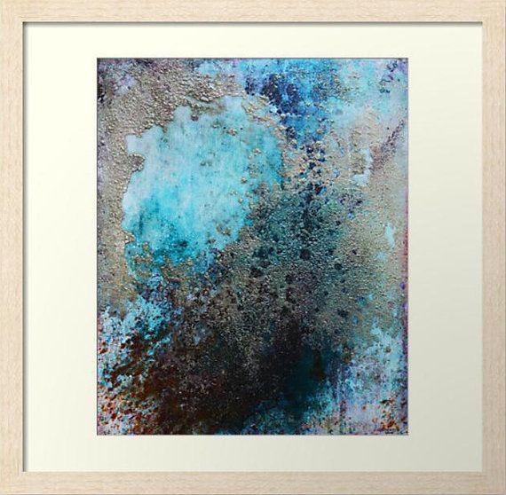 Fine Art Print. Framed Art Print. Abstract Wall Art. Industrial ...
