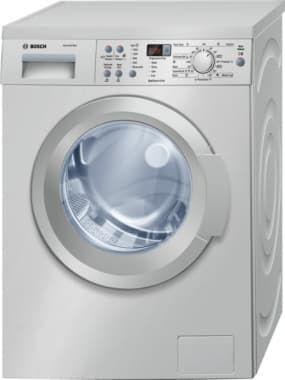 Bosch Waq2836sgb Freestanding Washing Machine Silver Washing Machine With 1400 Spin And 8kg Drum Size Bosch Washing Machine Washing Machine Washers Dryers