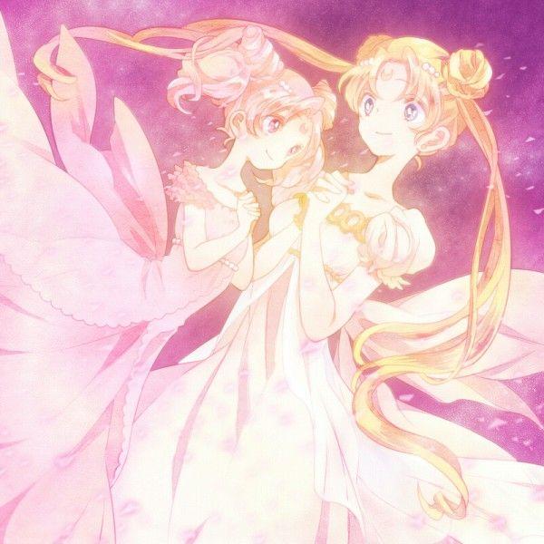 Tags: Anime, Fanart, Bishoujo Senshi Sailor Moon, Tsukino Usagi, Chibiusa