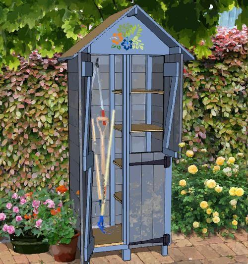 17++ Fabriquer une armoire de jardin en bois inspirations