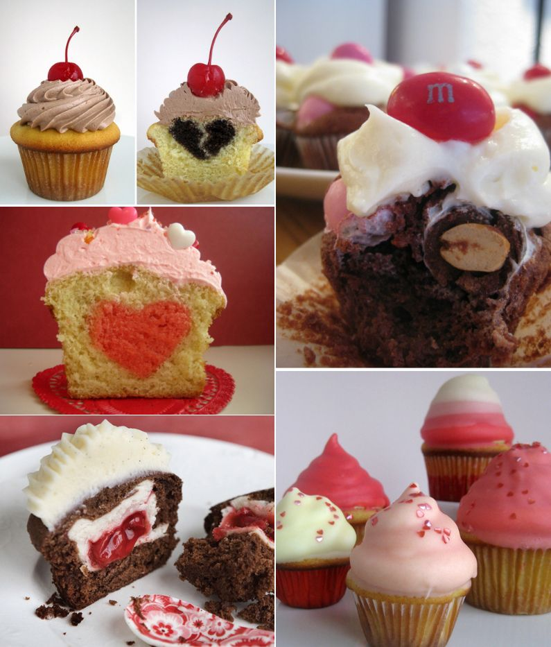 Fun Valentine's Cupcake Recipes