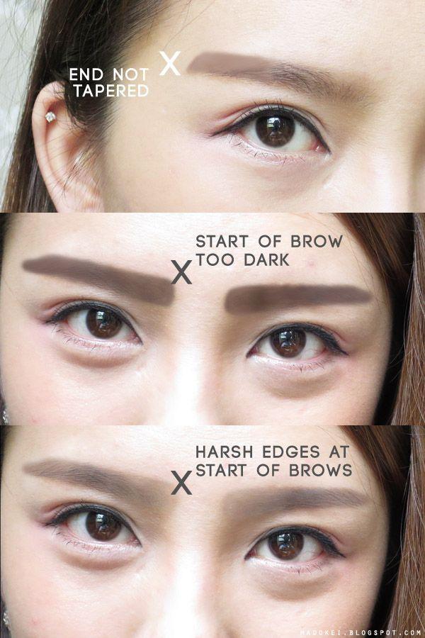 Eyebrow Korean Tutorial Buscar Con Google Http Eyecandyscom Tumblr Com Www Asianskincare Rocks Korean Eyebrows Ulzzang Makeup Asian Eyebrows