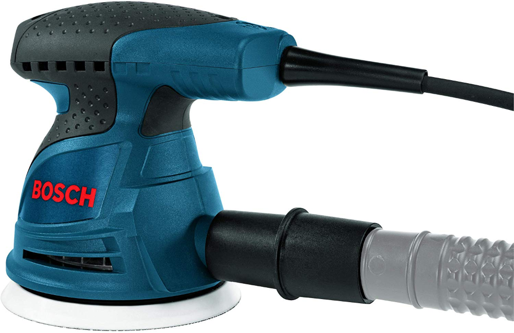 The Bosch Ros20vsc 5 Random Orbit Sander Polisher Furnishes An Optimized Combination Of Pad Orbit And Rotation That De Diy Woodworking Woodworking Plans Tools