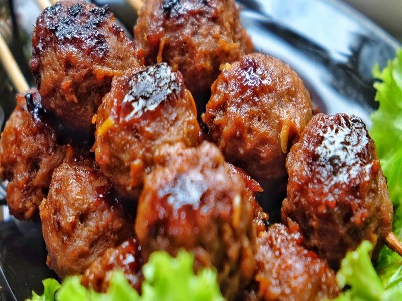 Resep Bakso Bakar Kuliner Khas Malang Yang Wajib Anda Coba Beserta Informasi Wisata Malang Resep Makanan Asia Resep Masakan Makanan Pedas
