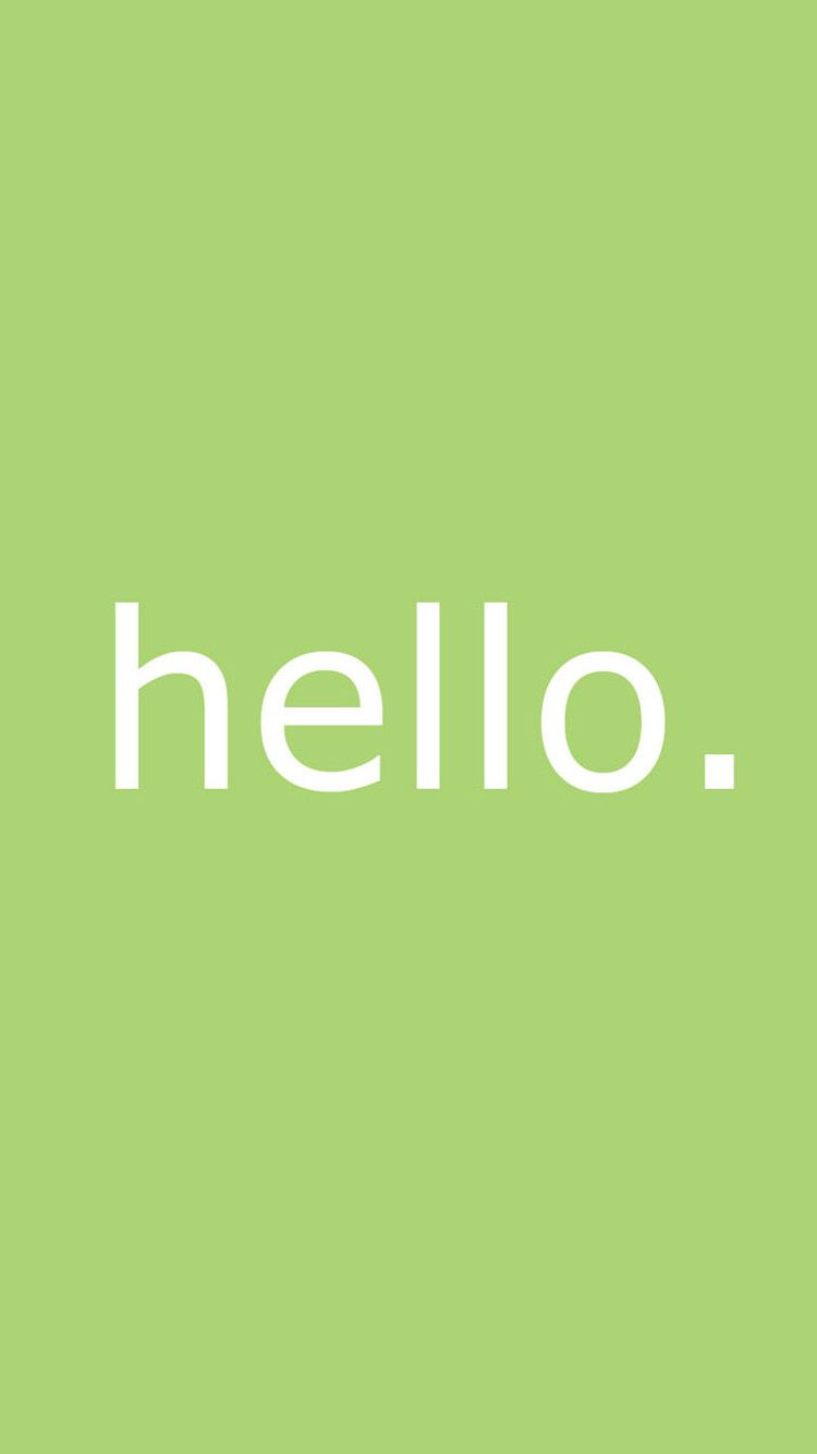 Letter Hello Iphone 6 Wallpaper Hello Wallpaper Iphone 6