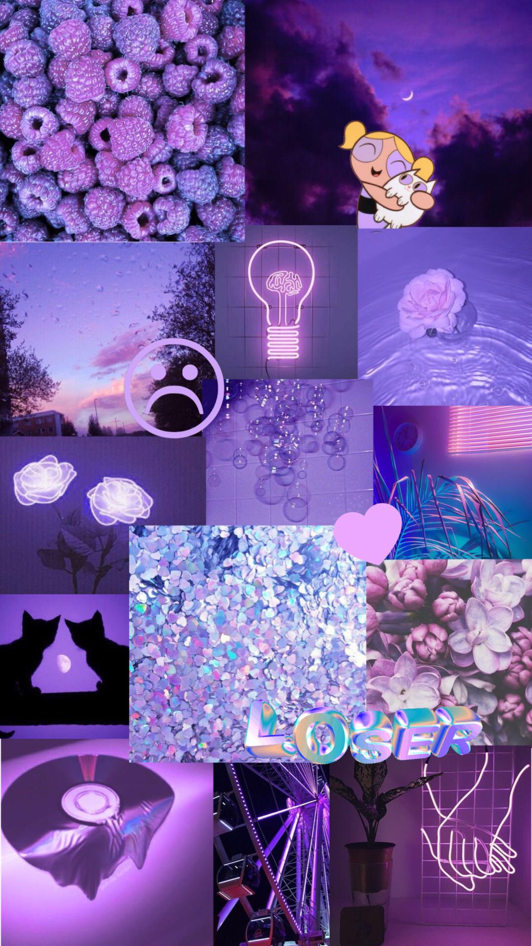 purple aesthetic background Purple aesthetic background