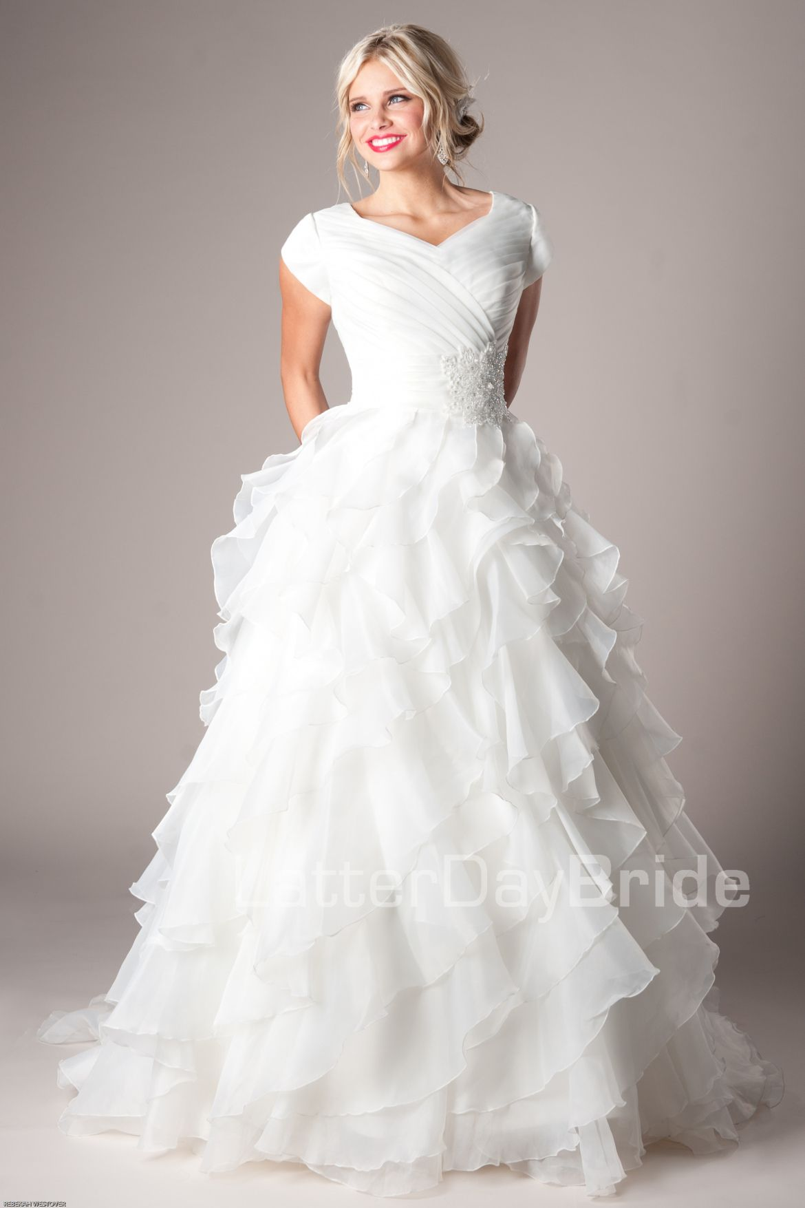 2018 Lds Wedding Dress - Wedding Dresses for Plus Size Check more at ...