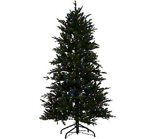 santas best 65 grand fraser fir tree w ez power 8 light function