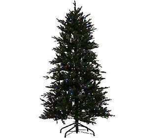 santas best 65 grand fraser fir tree w ez power 8 light function