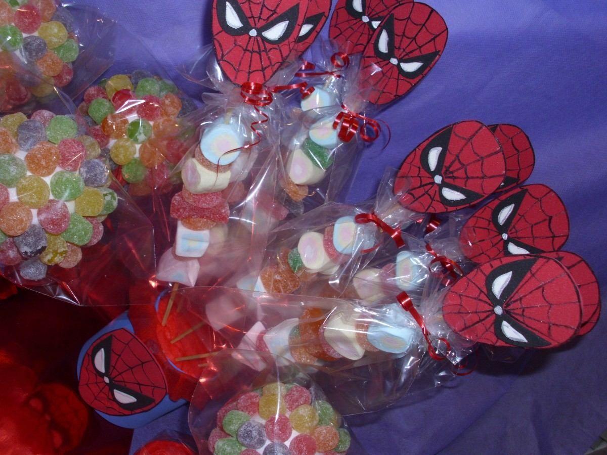 cumpleaños del hombre araña bolsitas Buscar con Google