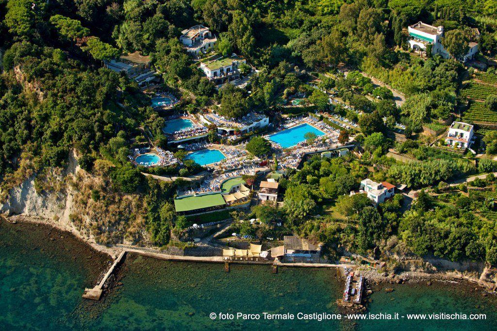 Parco Termale Castiglione in Ischia where you can