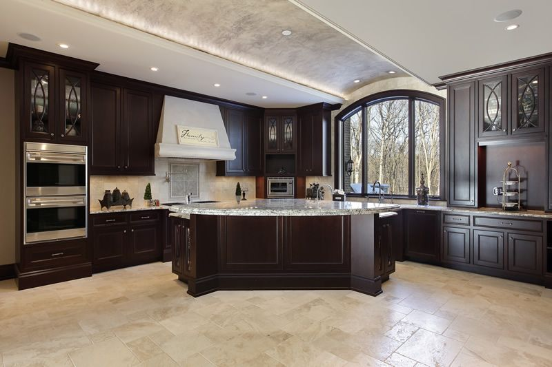 143 Luxury Kitchen Design Ideas Luxury Kitchen Design Luxury Kitchens Dark Kitchen Cabinets