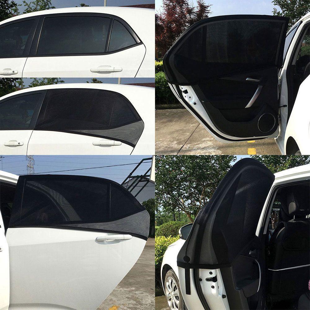 Car Side Rear Window Sun Visor Shade Mesh Cover Shield