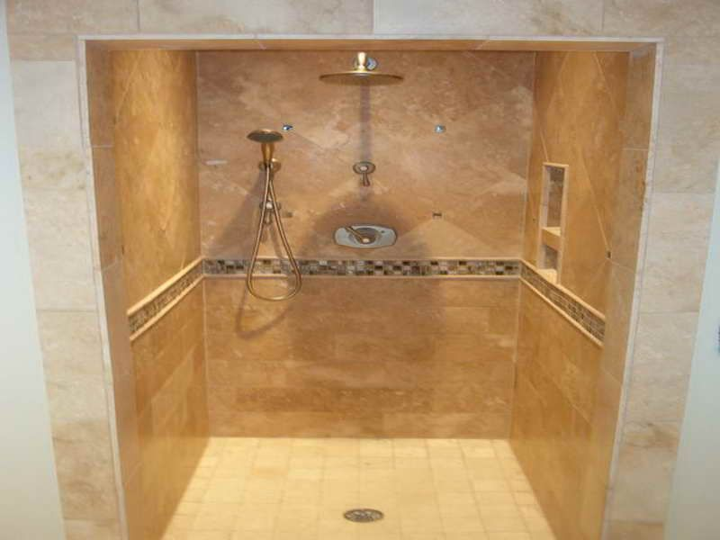 Walk In Tile Shower Designs | Creating A Great Shower Tile Design : Pictures  Of