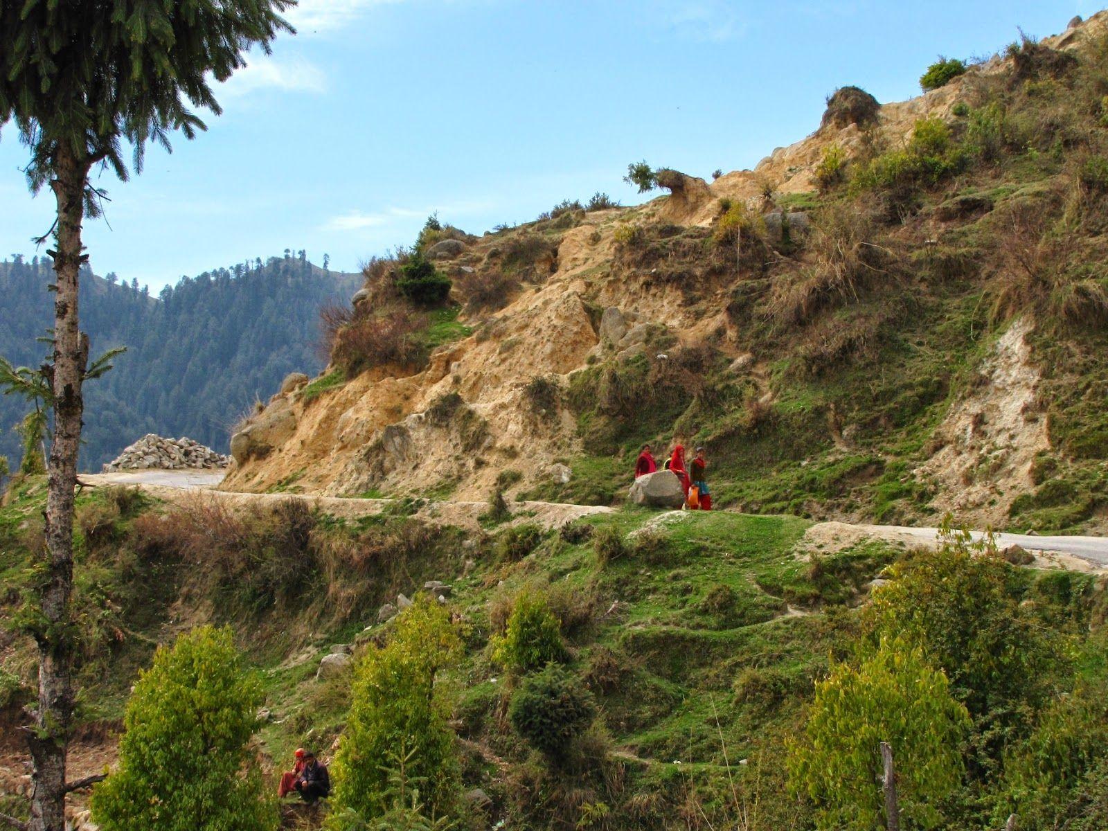 Lunch At Jot Pass And On Towards Jammu, Beautiful Himachal