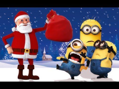 Minions Santa Claus Christmas Youtube Lustige Weihnachtsvideos Nikolaus Lustig Weihnachten Musik