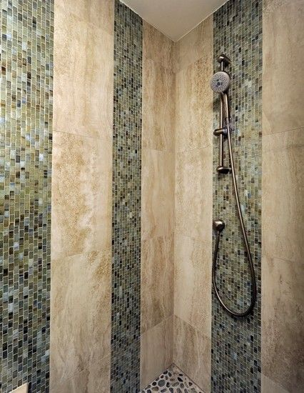 Vertical tile design pictures remodel decor and ideas for Bathroom tiles vertical or horizontal