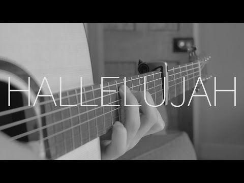 Jeff Buckley Hallelujah Fingerstyle Guitar Cover Free Tabs