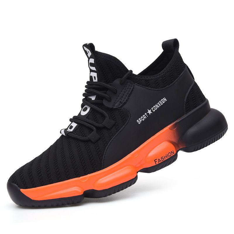 Comfortable men/woman safety shoes air