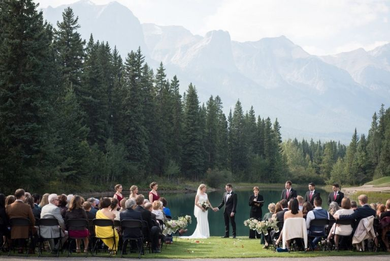 Canmore Golf And Curling Club Wedding