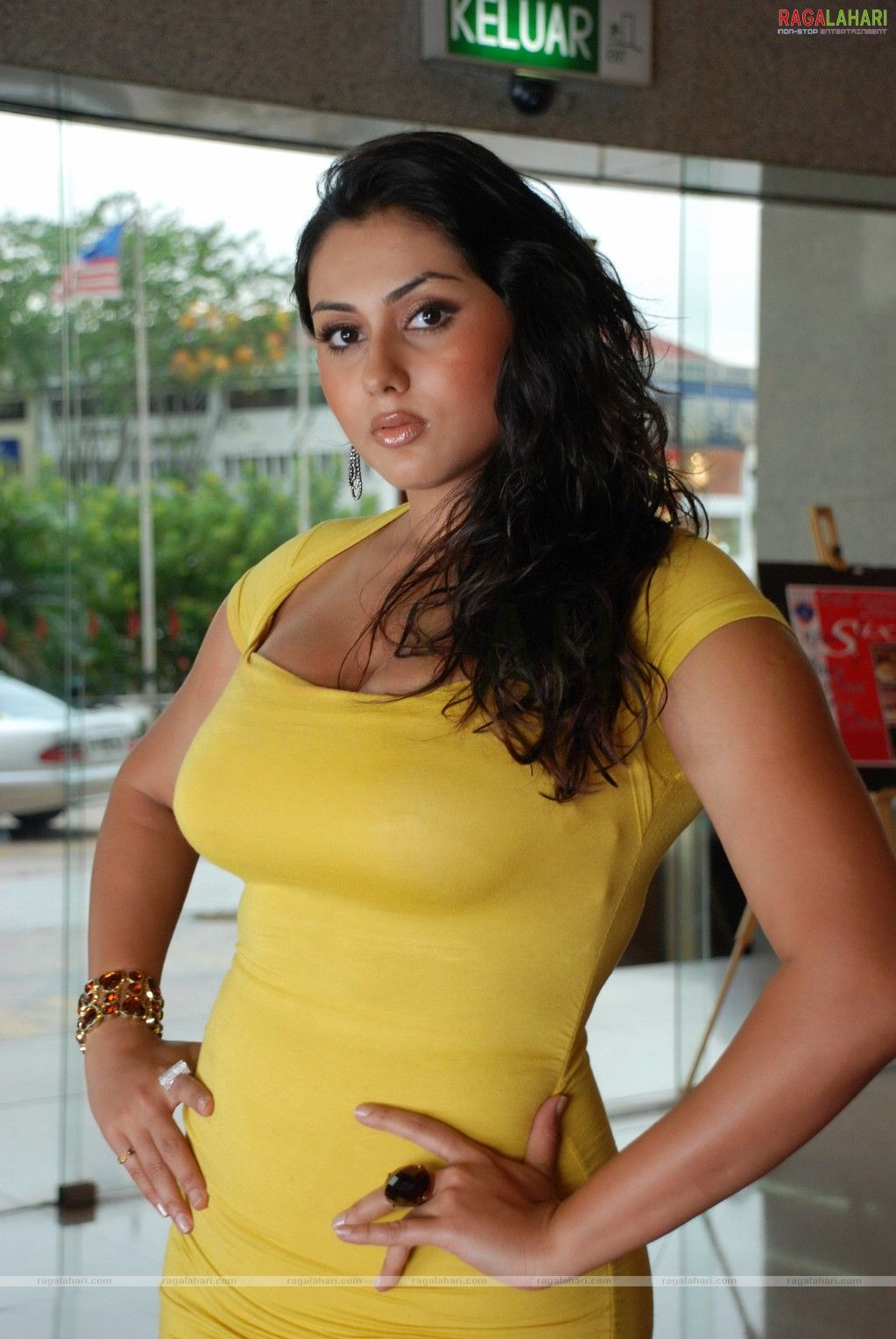 fat mom dress Namitha photo without