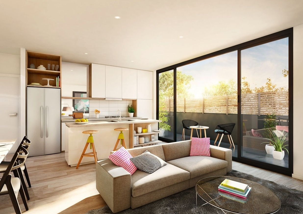 23 Open Concept Apartment Interiors For Inspiration | Small ...