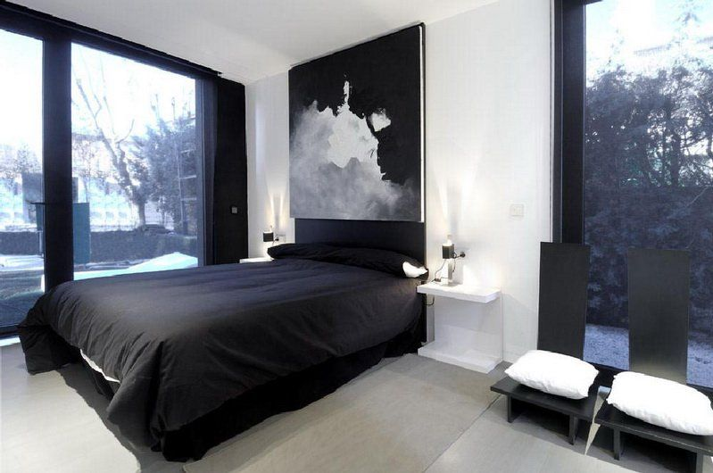 25 Cool Bedroom Design Ideas. 25 Cool Bedroom Design Ideas   Home design  Chairs and Black painting