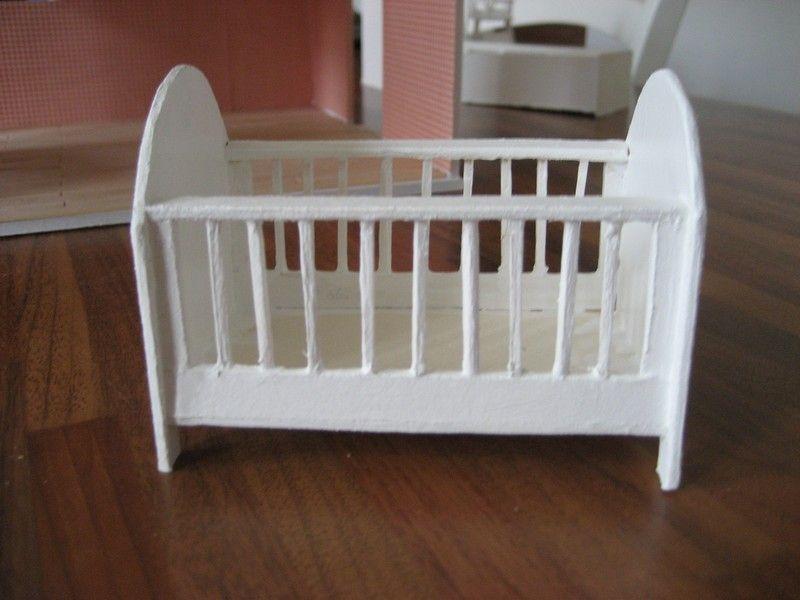 tuto lit barreaux miniature poup e pinterest barreau tuto et miniature. Black Bedroom Furniture Sets. Home Design Ideas