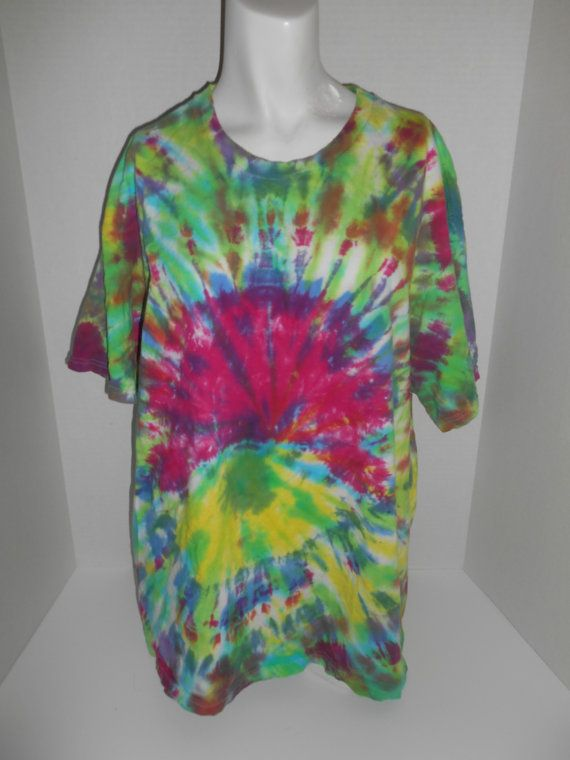 4e7aca83a834 handmade tye dye tie die tee t shirt hippie by ATELIERVINTAGESHOP ...