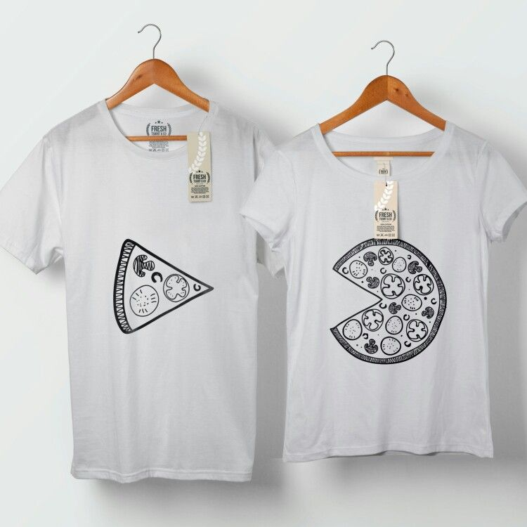 f592e5e8bd Couple t-shirt pizza