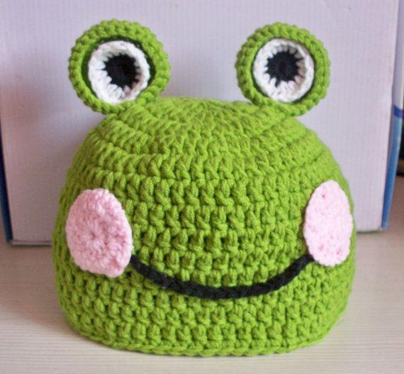Frog hat for JoJo
