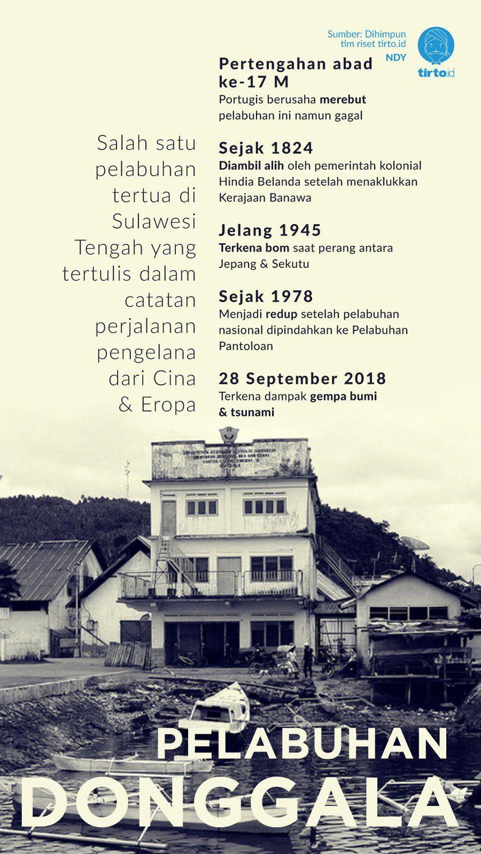 Pelabuhan Donggala Jaya Sejak Zaman Kerajaan Lalu Dimatikan Orba Sejarah Dunia Infografi Real Estate Dalam Bahasa Indonesia