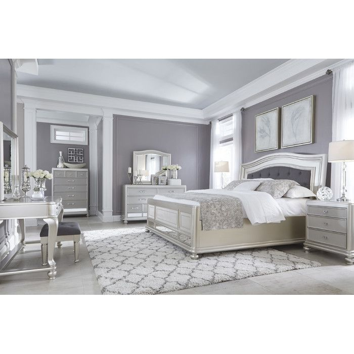 Signature Design By Ashley Coralayne Panel Customizable Bedroom Set