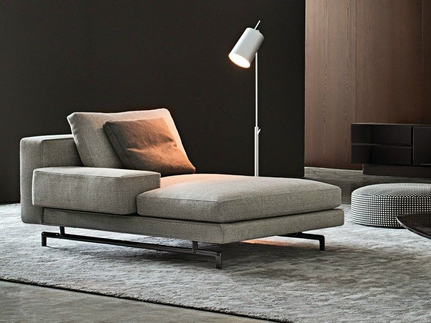 Chaise longue sherman by minotti en 2019 sillones - Sofas individuales modernos ...