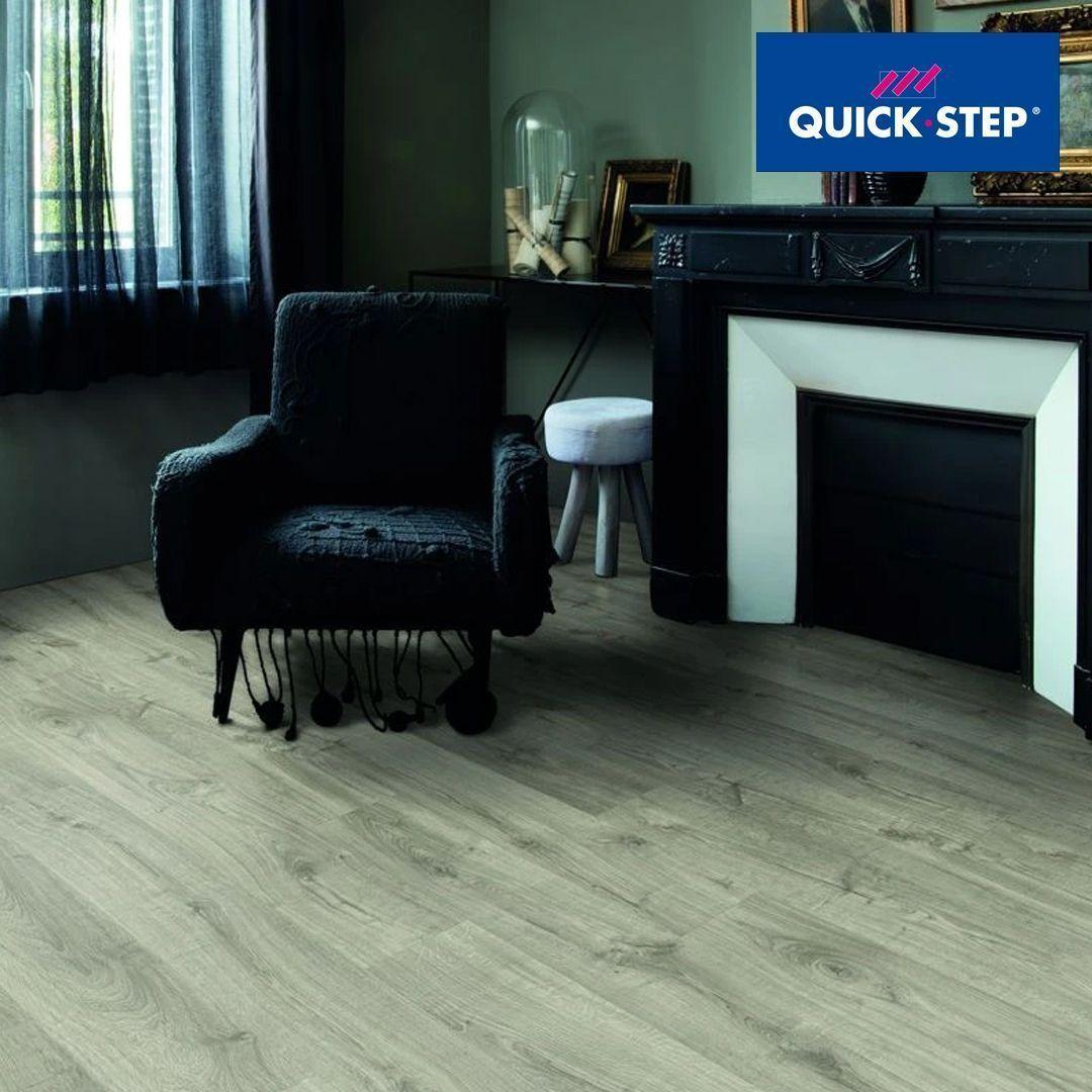 QuickStep Livyn Pulse Glue Plus Autumn Oak Warm Grey in