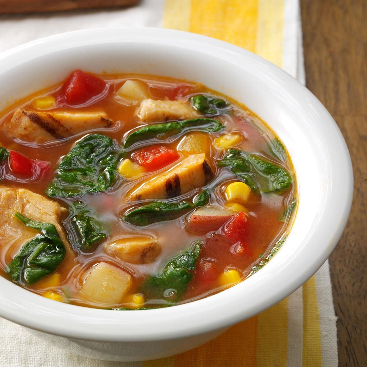Slow Cooker Chicken Vegetable Soup Recipe Chicken Vegetable Soup Recipes Vegetable Soup Recipes Recipes