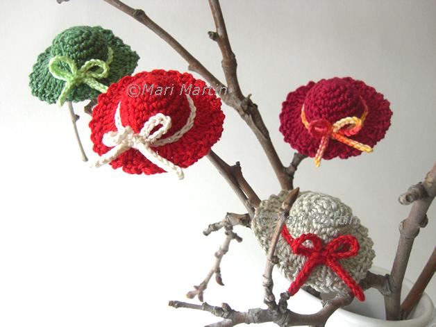 crochet mini hat | crochet | Pinterest