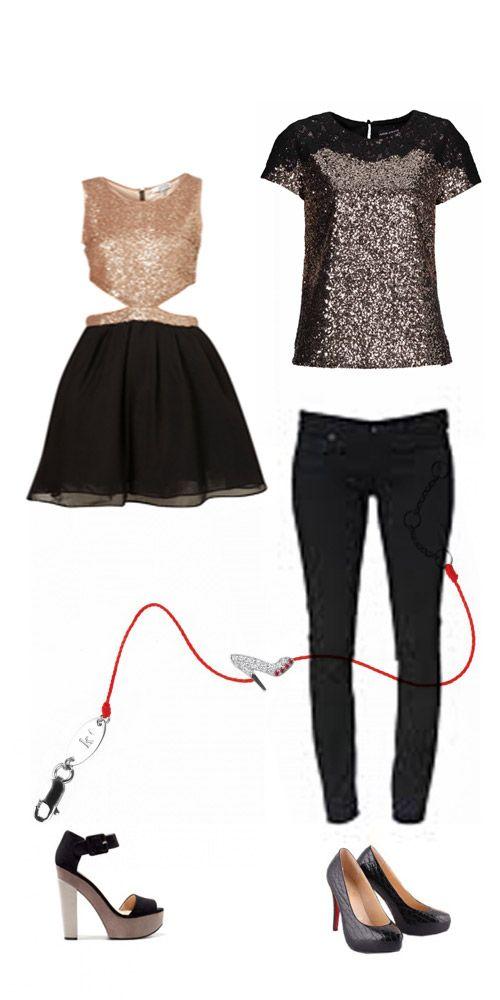quel look pour le nouvel an robe top shop escarpins zara. Black Bedroom Furniture Sets. Home Design Ideas