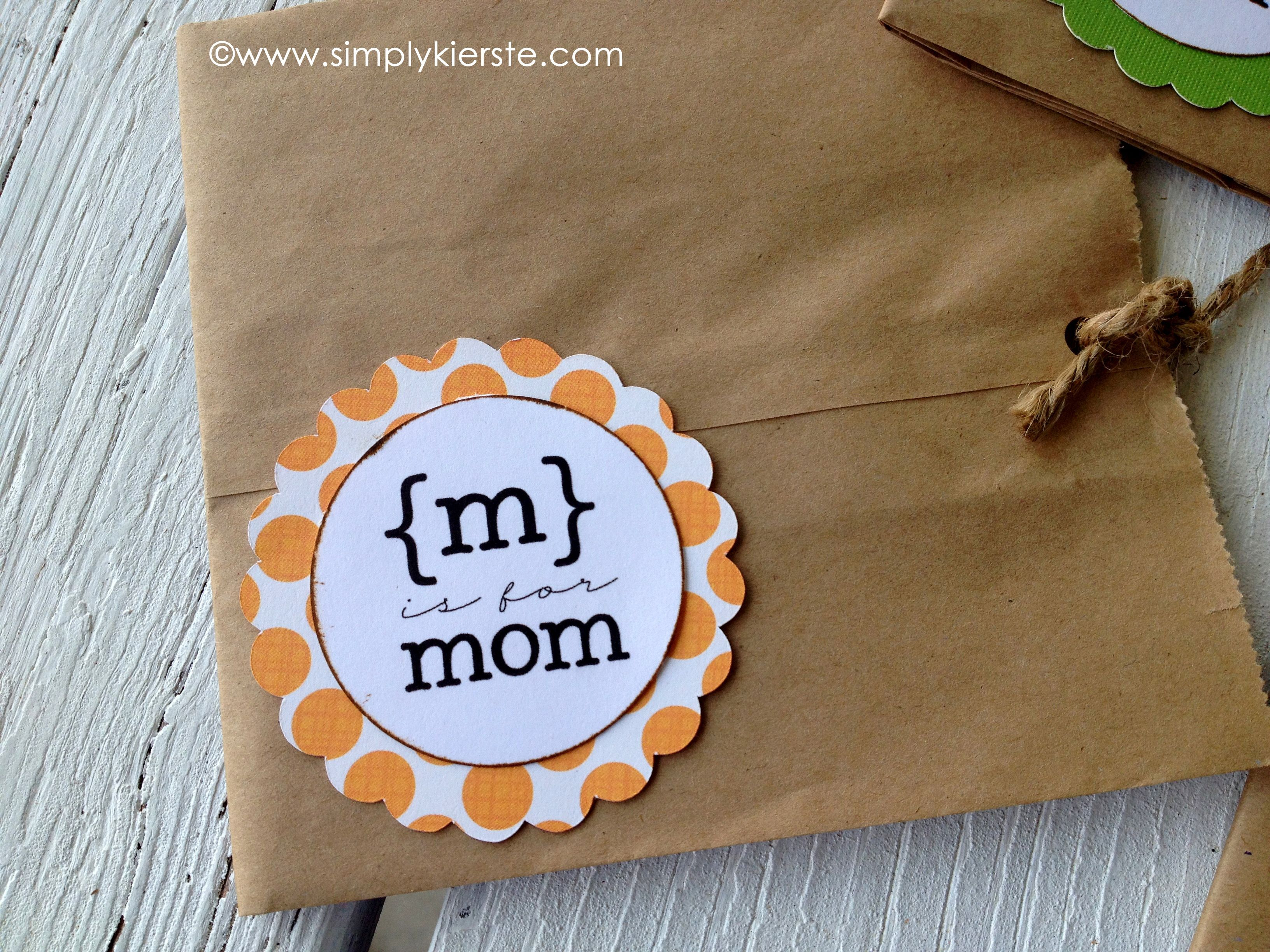 Paper sack motherus day cards paper sack cards and handmade tags
