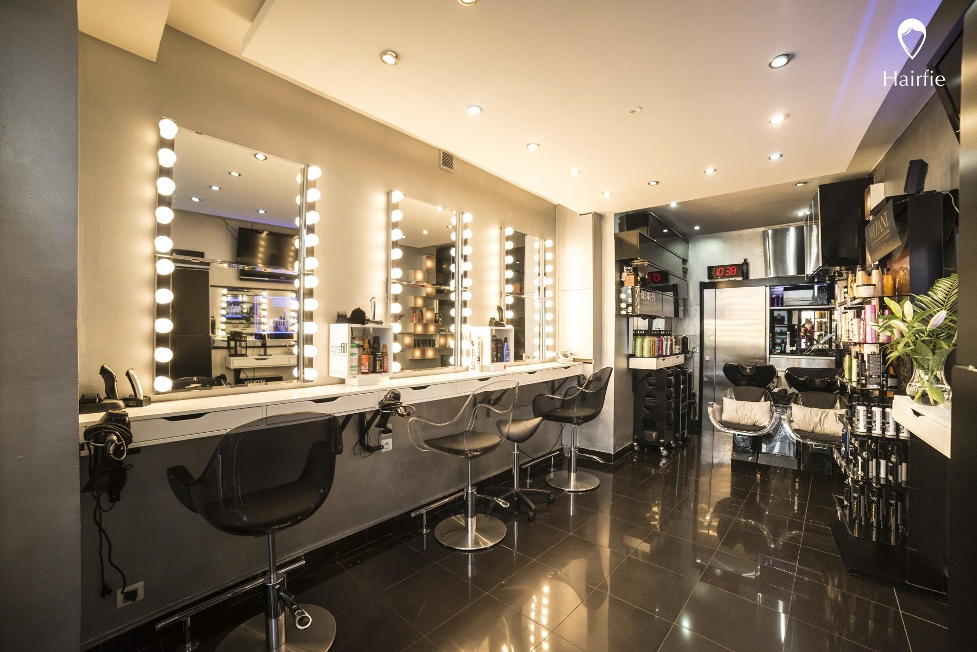Salon Miroir Paris Salon De Coiffure Why Not Hairdresser 39s En 2019