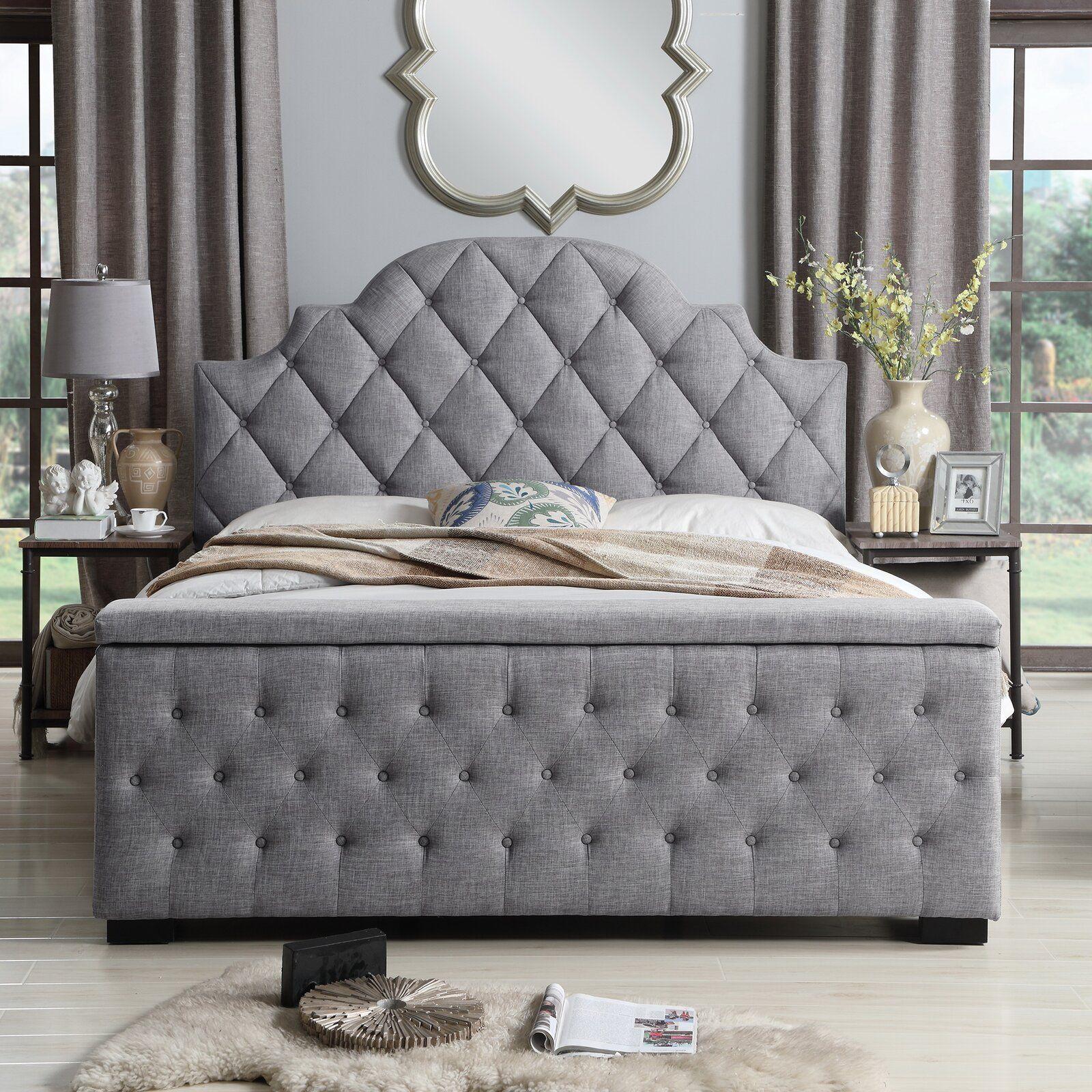 Thom Tufted Upholstered Storage Standard Bed Upholstered Panel