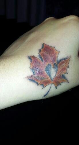 Fall/Leaf Tattoo