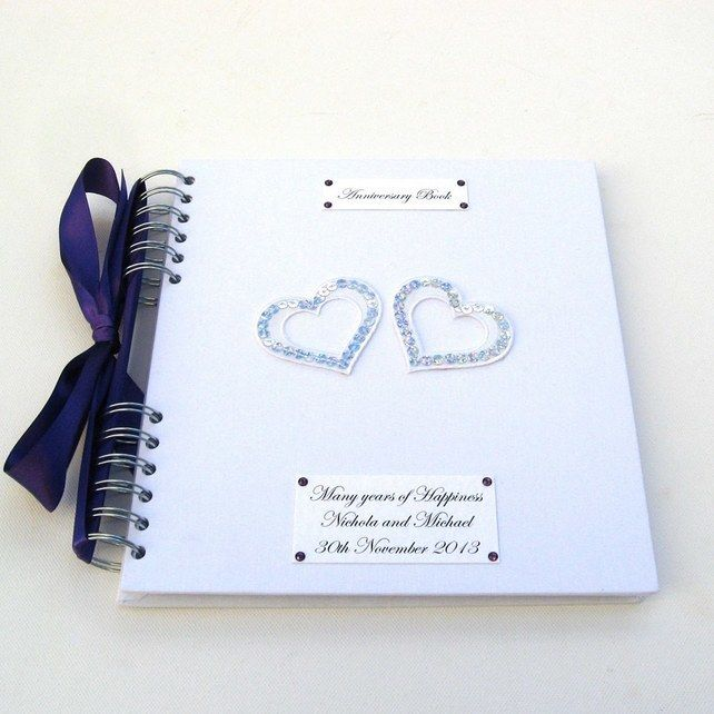 Wedding Anniversary Memory Book