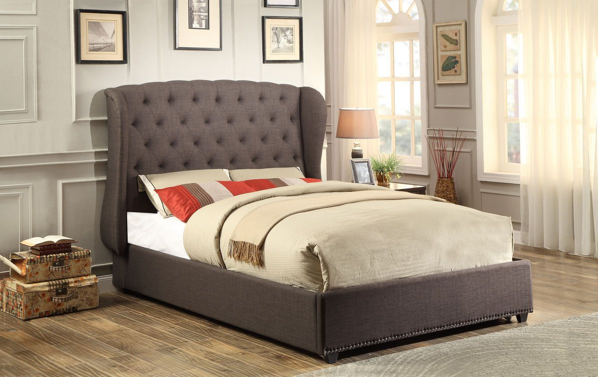 Home elegance chardon full wing bed fn free shipping for