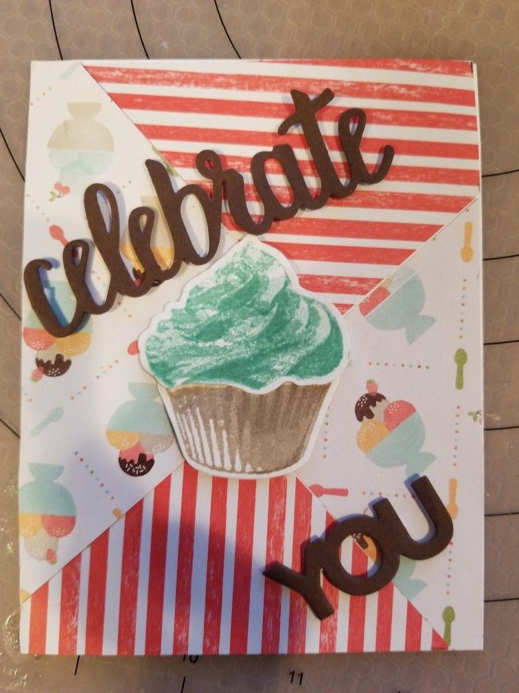 sweet cupcake sweet treat birthday  birthday cards