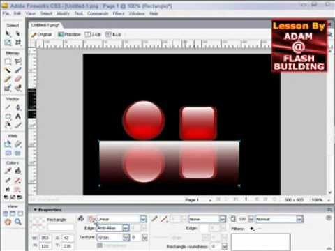 Designing a webpage using adobe fireworks cs3 | hacktweaks.