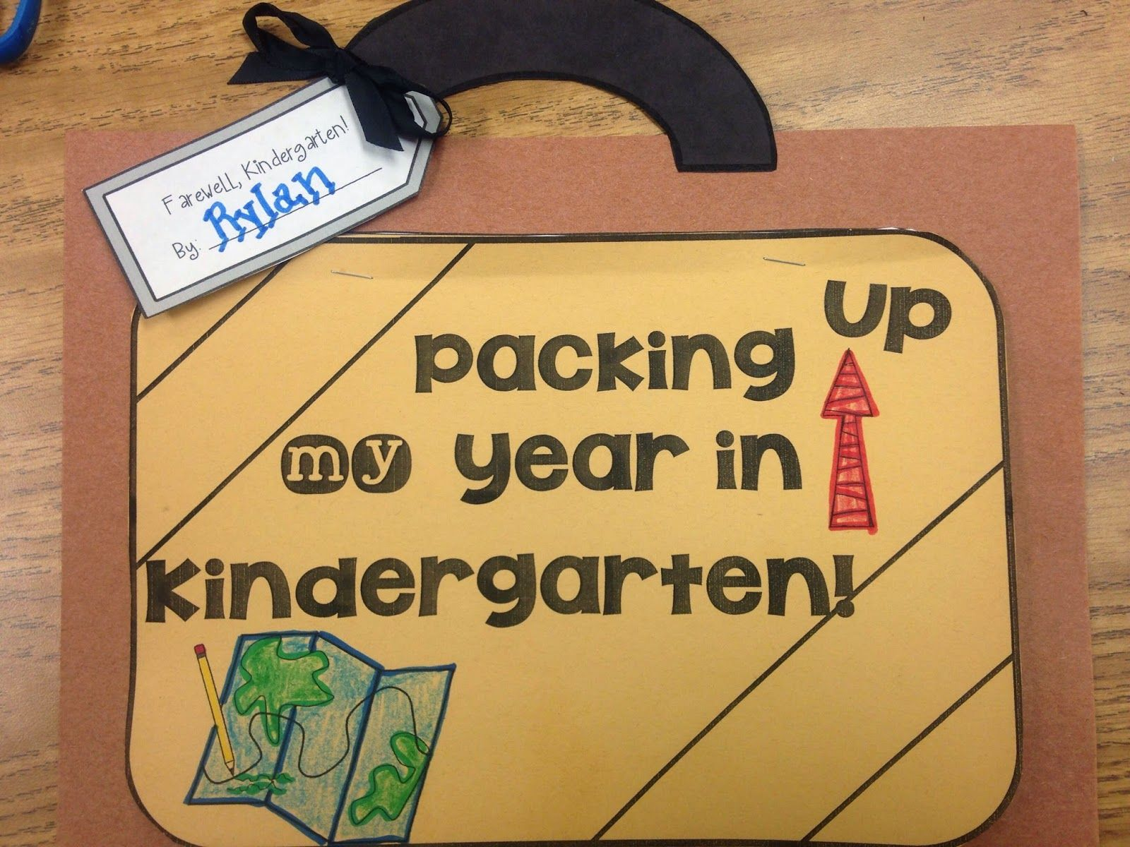 Packing Year Fun Memory Book Kids In Kindergarten-fourth Grade Super Cure And