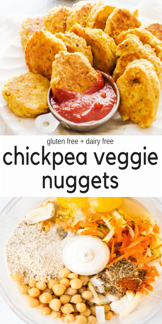 Photo of Chickpea Vegetable Nuggets –   – #chickpea #essenvegetarisch #nuggets #vegetable…